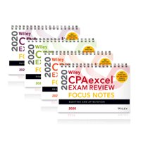 Wiley Cpaexcel Exam Review 2020 Focus Notes: Complete Set (Paperback)