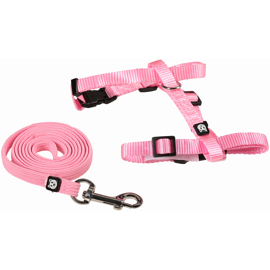Simplycat Adjustable Cat Harness & Lead, One Size