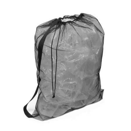 Soccer Gym Bag - Nylon Mesh Drawstring Backpack – Soccer Sports, Dirty Laundry, Gym Bag
