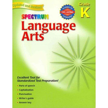 Spectrum Language Arts Gr K