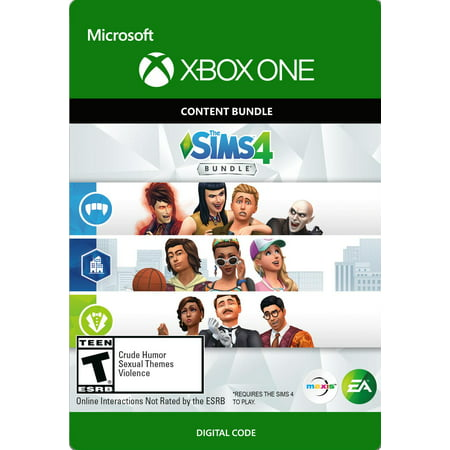 The SIMS 4: Extra Content Starter Bundle Xbox One (Email Delivery)