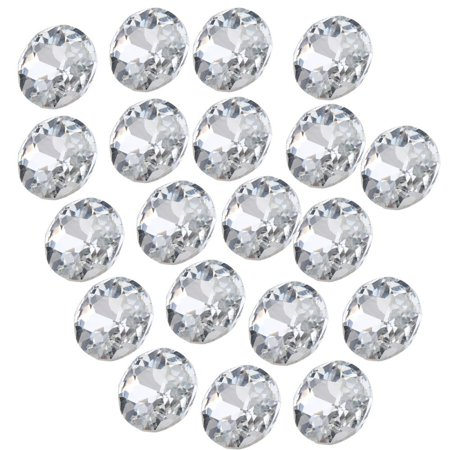 Sofa Headboard Upholstery Crystal Buttons Pack Of 50  Diameter 25Mm