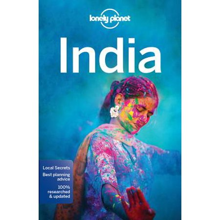 Lonely Planet India - Paperback: 9781786571441 (South India Map)