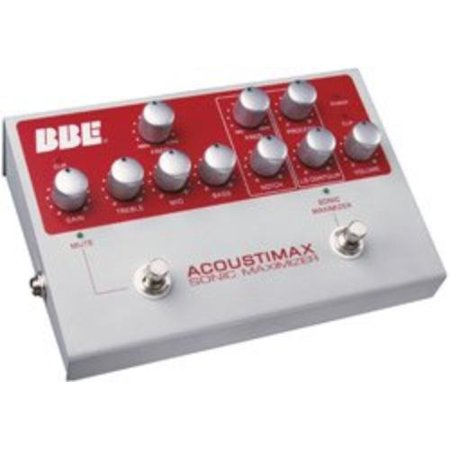 Bbe ACOUSTIMAX Acoustic Preamp Perp Instrument W/ Sonic Maximizer