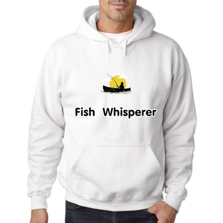 Fish Shop Boats (034 - Hoodie Fish Whisperer Fishing Boat Sweatshirt )