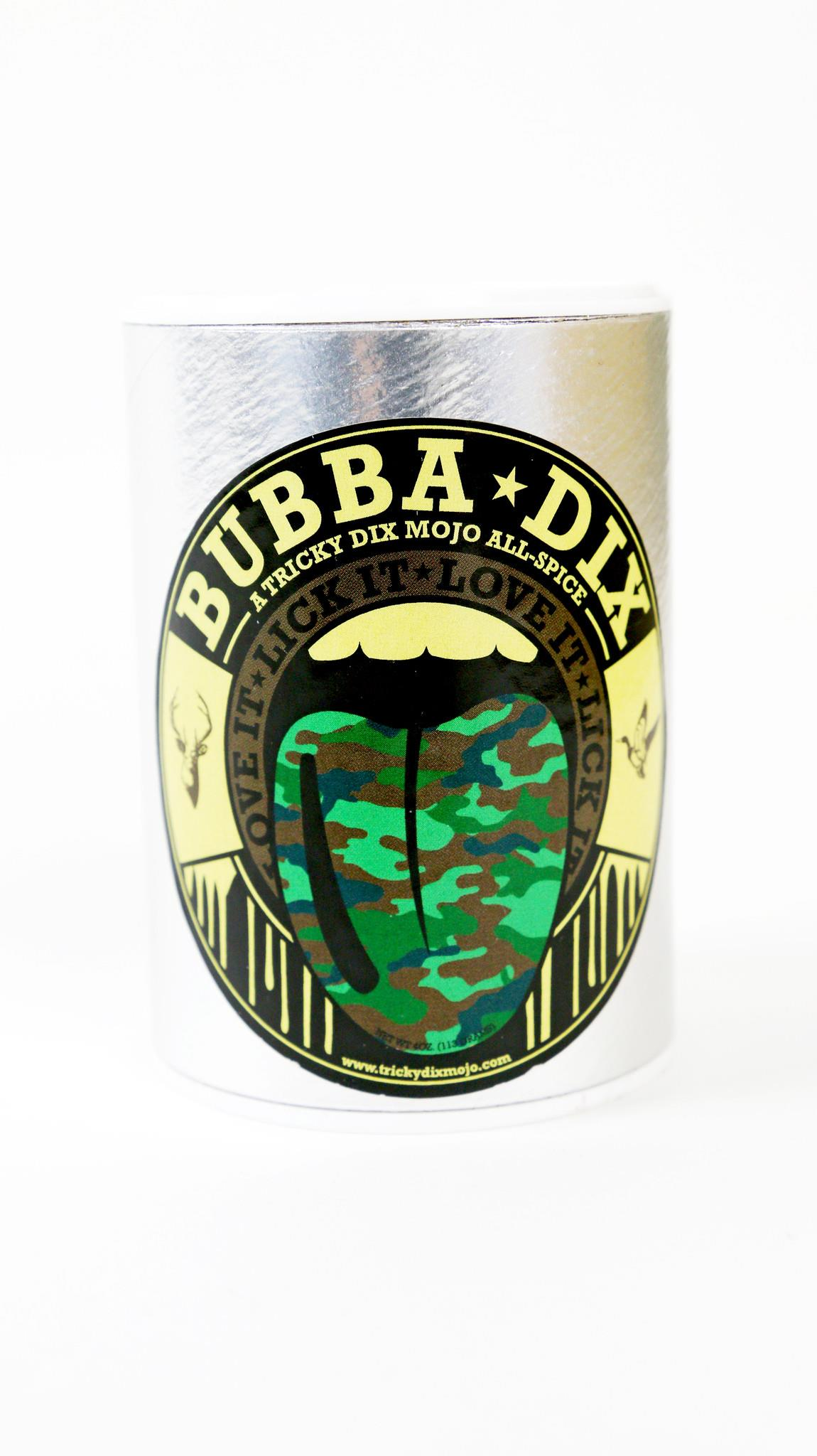 Tricky Dix Mojo Bubba Dix All-Spice for Venison, Duck, Dove, Quail and Crawfish 4 oz.... by