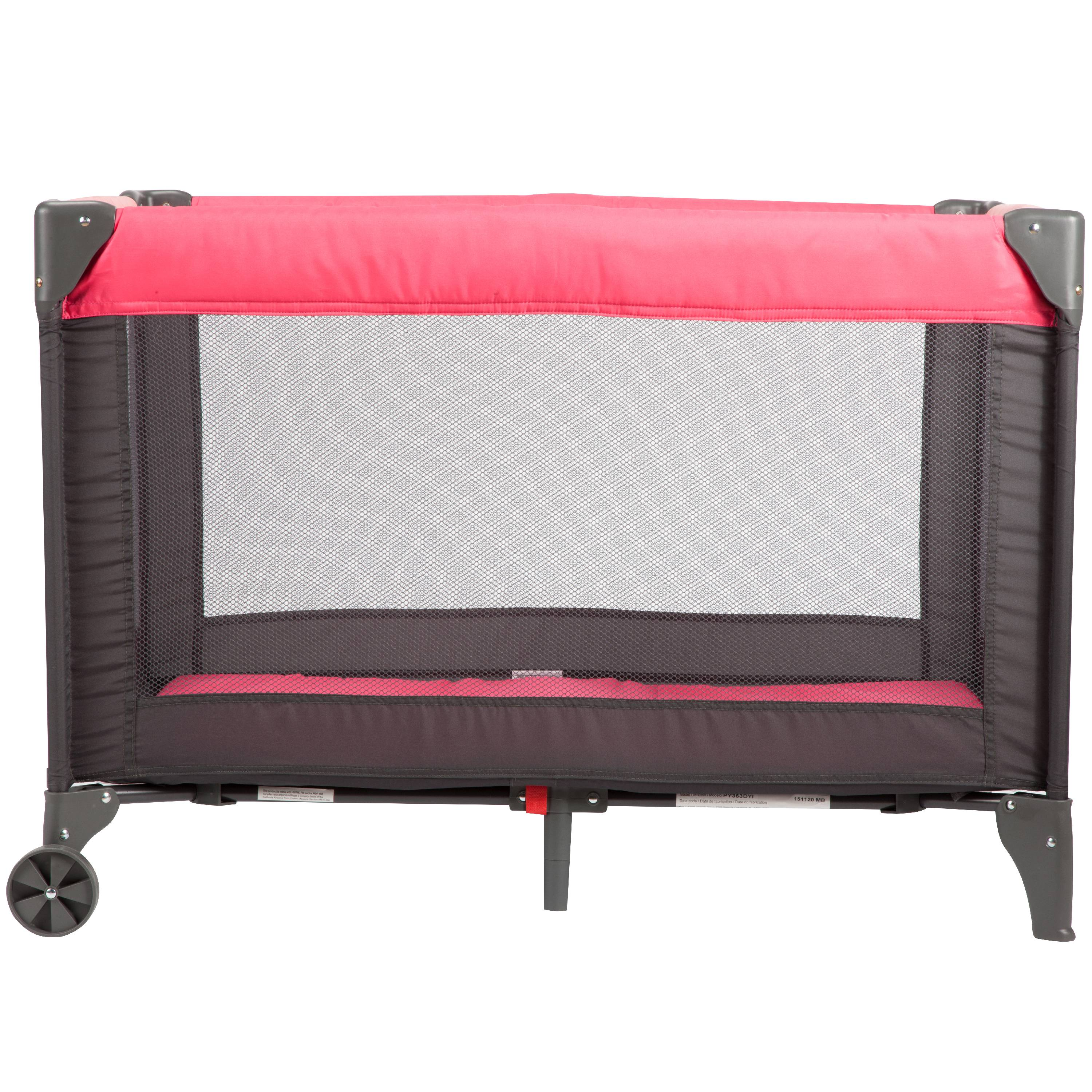 Cosco Funsport Play Yard, Colorblock Coral