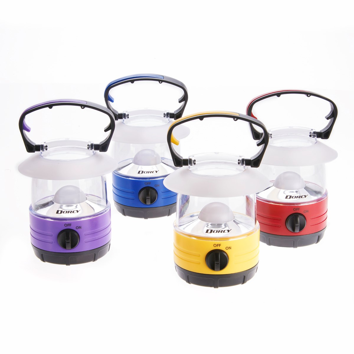 Dorcy LED Bright Mini Lantern 70 Hour Run Time, Assorted Colors