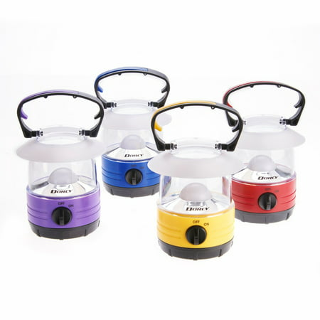 Fluorescent Camping Lantern (Dorcy LED Bright Mini Lantern 70 Hour Run Time, Assorted Colors )