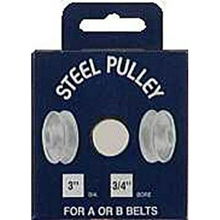 PULLEY STEEL 3X3 4