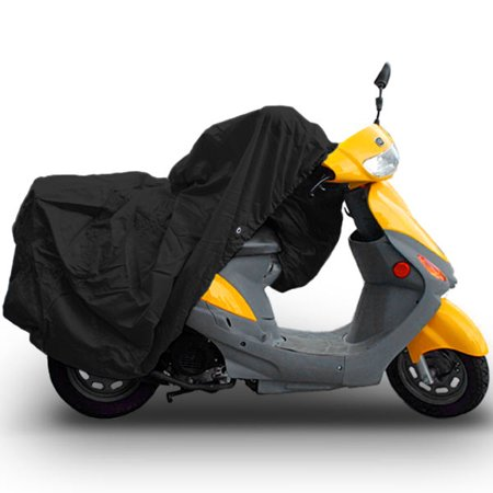 (Superior Travel Dust Motorcycle Scooter Moped Cover Covers : Fits Up To Length 80