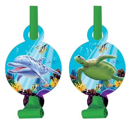 Dolphin Party Blowouts, 8pk](Dolphin Party)
