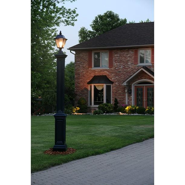 Mayne Signature Lamp Post Black No, Mayne Lamp Post