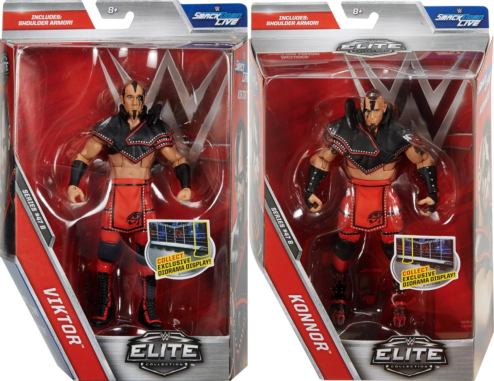 Package Deal WWE Elite 47.5 Ascension (Konnor & Viktor) Toy Wrestling Action Figures by
