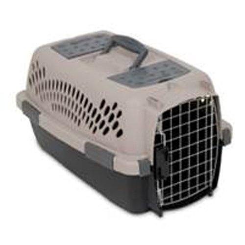 Dosckocil Pet Taxi Pet Carrier, Small, Beige by Petmate