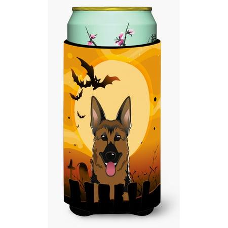Halloween German Shepherd Tall Boy Beverage Insulator Hugger BB1769TBC