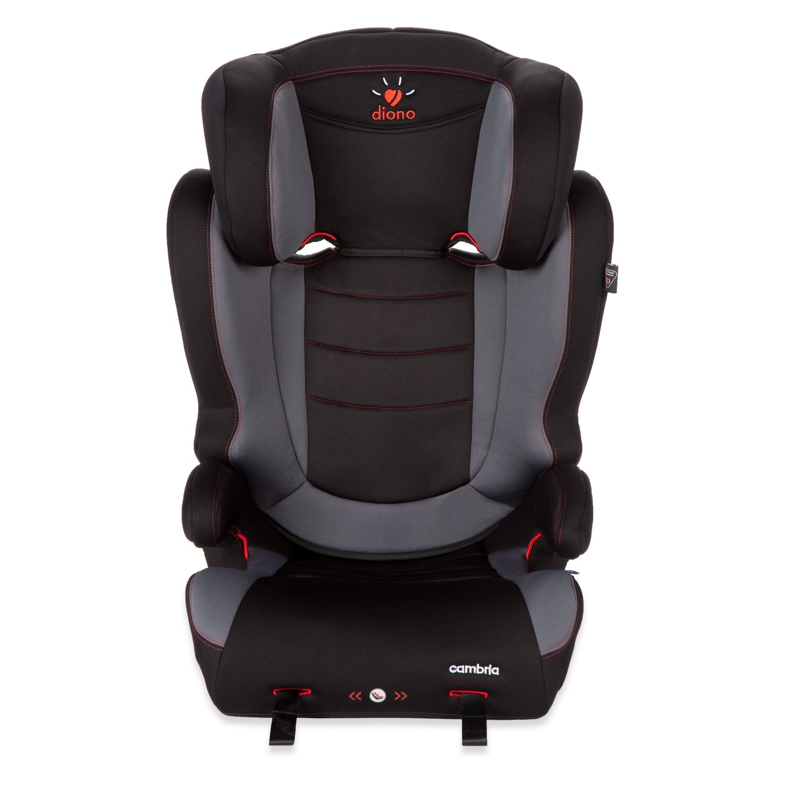 Diono Cambria High Back Booster Seat - Graphite