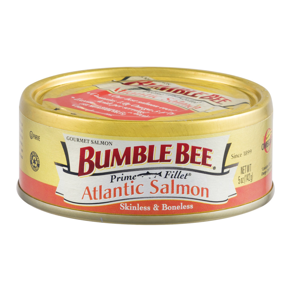 Bumble Bee Prime Fillet Gourmet Atlantic Salmon, 5 oz by Bumble Bee Foods, LLC