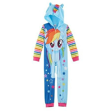 My Little Pony Movie Girls Union Suit One Piece Blanket Sleeper Pajamas (6)](My Little Pony Pajamas Adults)