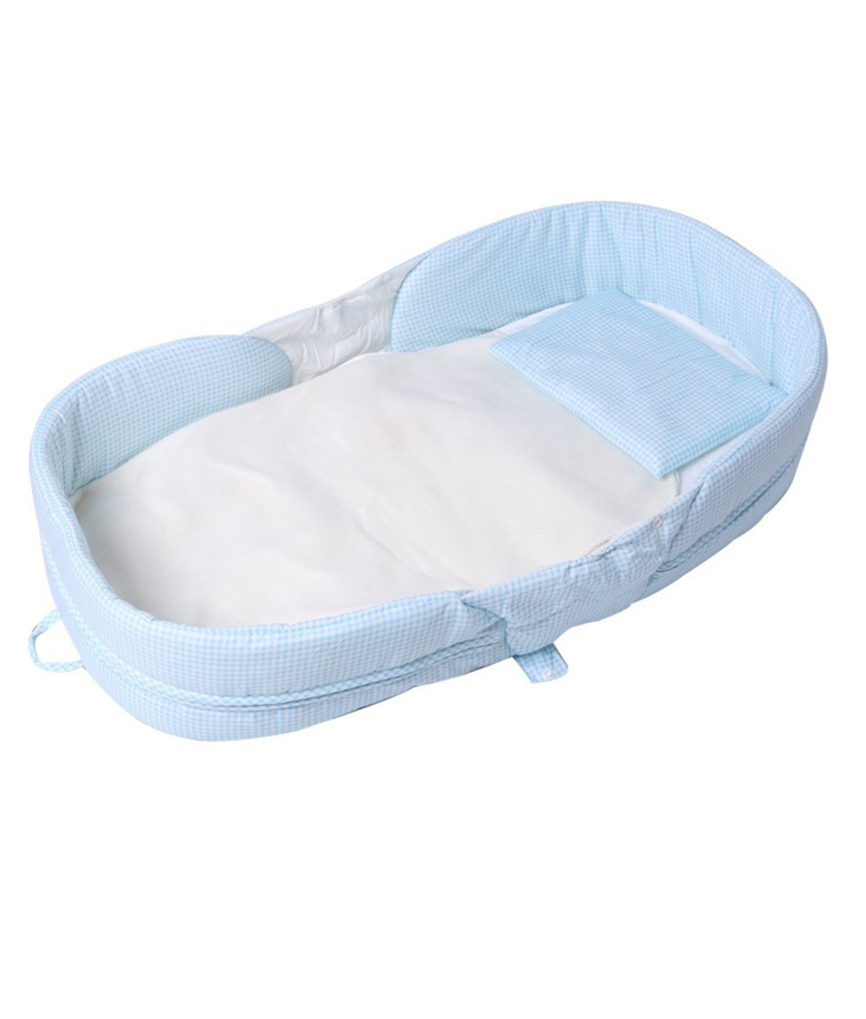 083deae5242 Labebe Baby 2 in 1 FOLD   GO Foldable Travel Bed Bassinet Convertible to  Diaper Changing MAT for Infants up to 1 Year