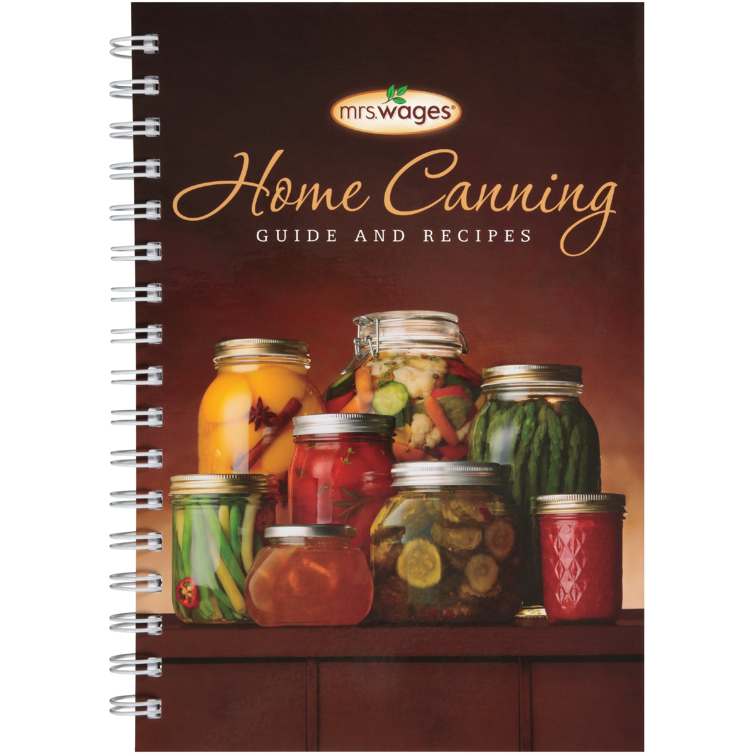 Mrs. Wages® Home Canning Guide and Recipes Book
