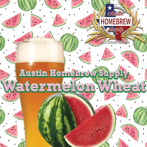 Austin Homebrew Watermelon Wheat (20) - ALL GRAIN