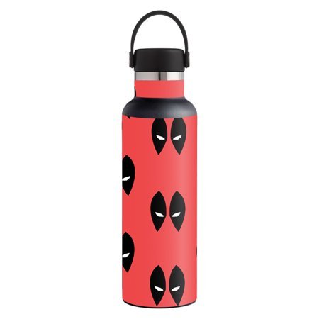Skin For Hydro Flask 21 oz. Standard Mouth - Dead Eyes Pool   MightySkins Protective, Durable, and Unique Vinyl Decal wrap cover   Easy To Apply, Remove, and Change