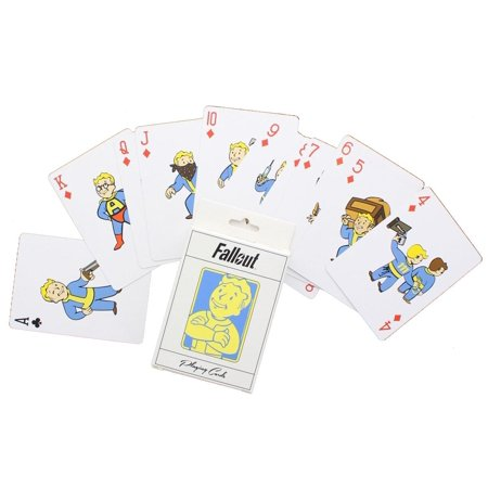 Fallout Vault Boy Playing Cards (Fall Out Boy Valentine Cards)