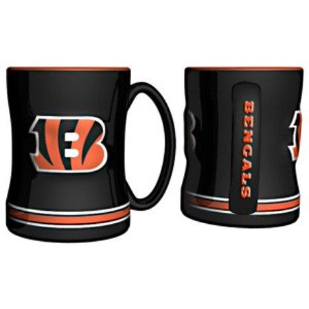 Cincinnati Bengals Coffee Mug - 15oz Sculpted - image 1 de 1