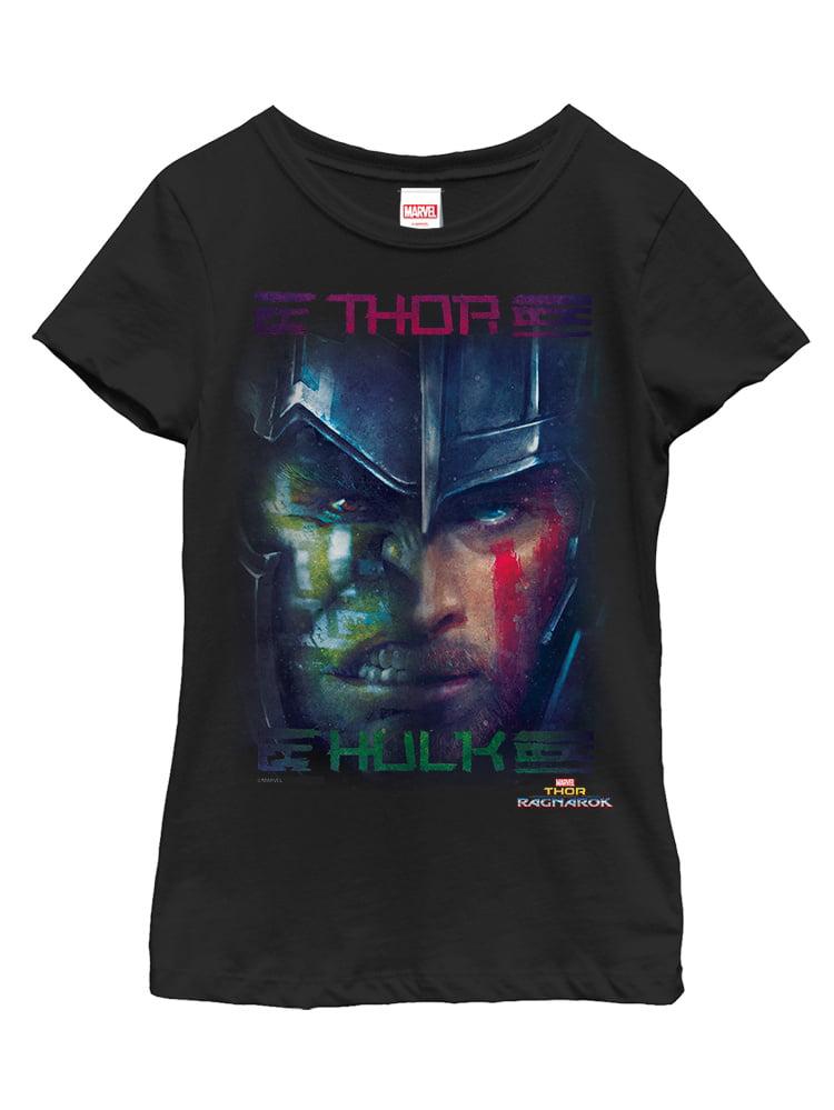 Marvel Girls' Thor: Ragnarok Hulk Battle T-Shirt
