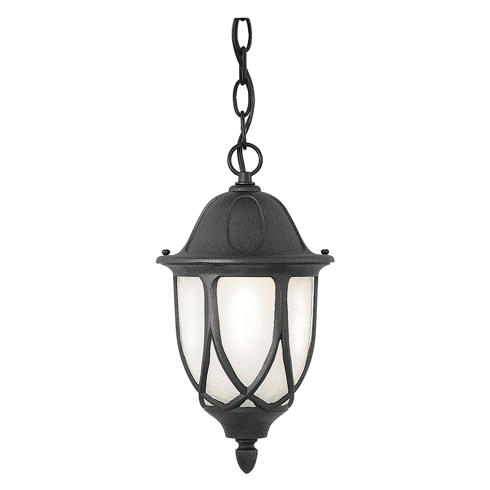 Designers Fountain Outdoor 2864-BK Capella Hanging Lantern by Designers Fountain