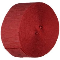FR Festive Crepe Streamer (red) Party Accessory (1 count) (1/Pkg)