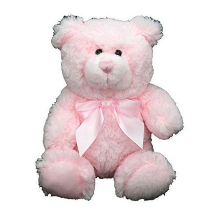 Anico Plush Toy, Stuffed Animal, Bear, Pink, 8 Inches Tall - image 1 of 1