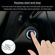 Universal Version Smart Key PKE Passive Keyless Entry Car Alarm System engine start button Remote Engine Start Remote Open and close Car windows