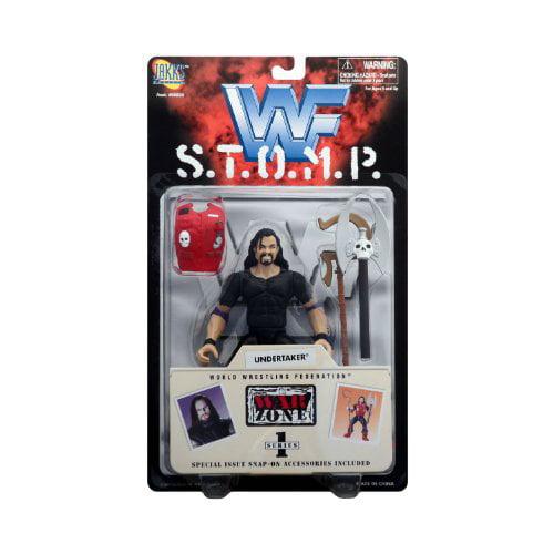 Wwf S.T.O.M.P. War Zone Series 1 - Undertaker By Jakks Pacific - image 1 of 1