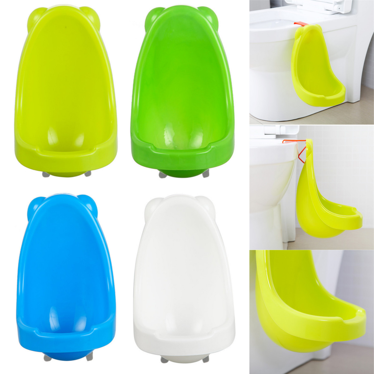 Children Toddler Standing Potty Toilet Urinal Baby Bathroom Hanging Pee Trainer,Boy Bathroom Hanging Pee Trainer