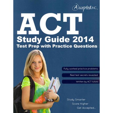 Image of ACT 2014: Test Prep With Practice Questions
