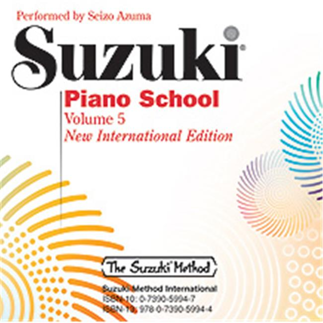 Alfred 00-32635 SUZUKI PIANO SCHOOL 5-CD INT by Alfred