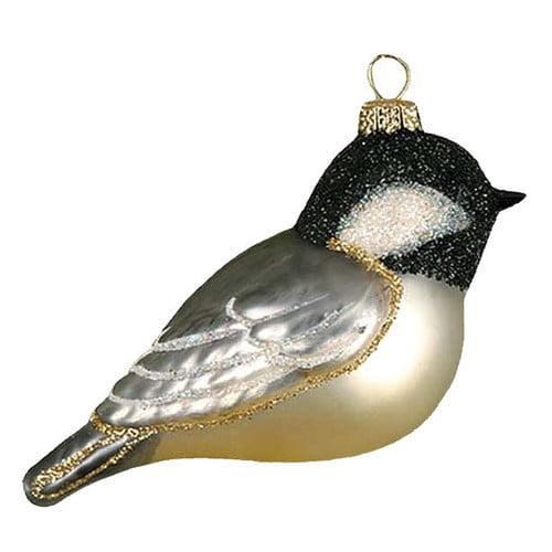 Cobane Studio LLC Capped Chickadee Christmas Ornament