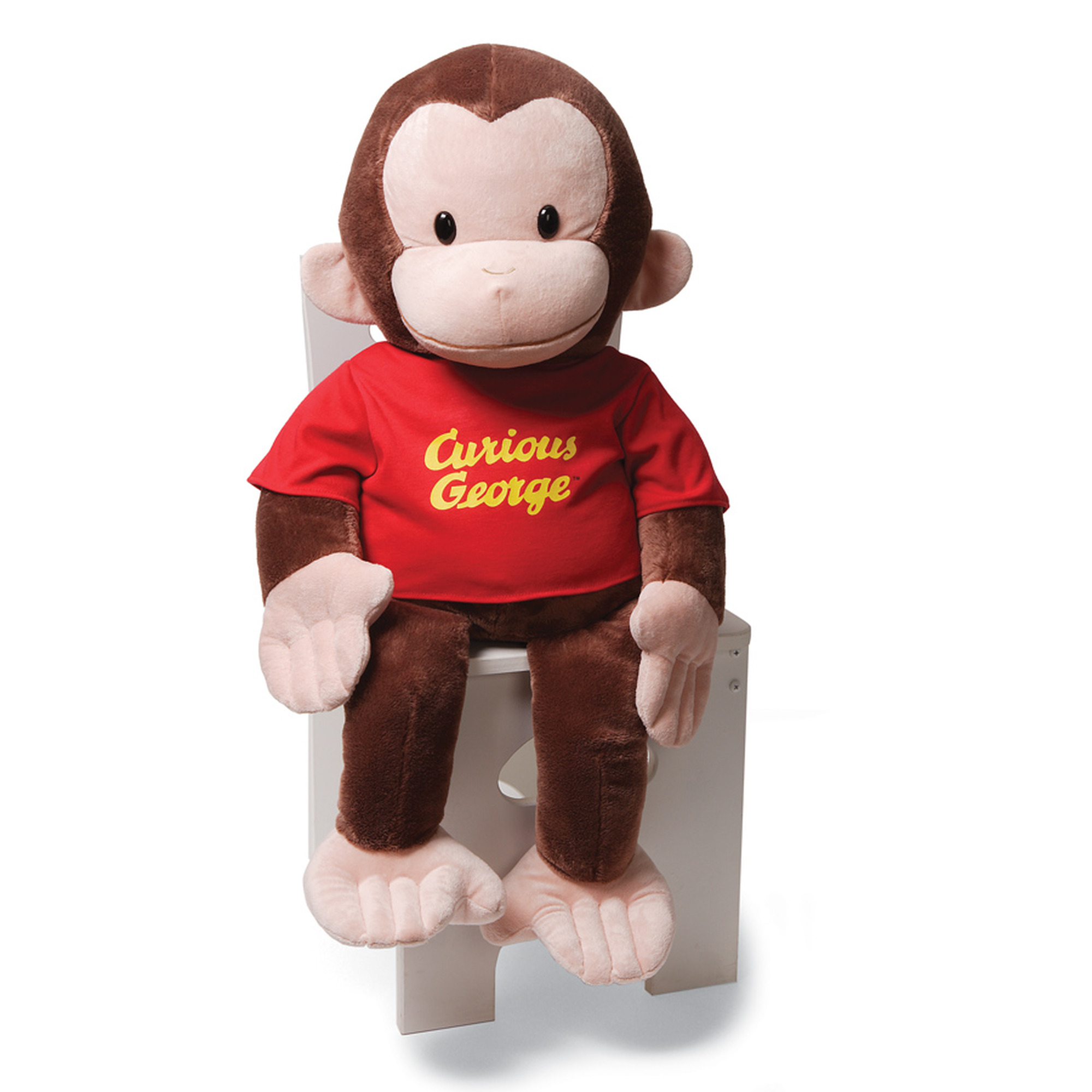Gund Curious George Stuffed Animal, 26 inches