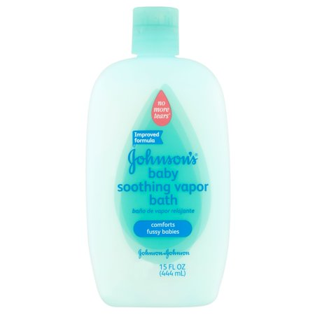 Apaisant bébé Johnson Vapor Bath, 15 Oz