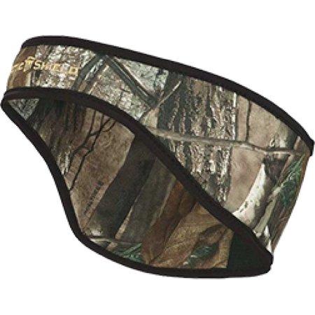 Arctic Shield Womens Headband With Arcticshield Tech Realtree Xtra - Real Deer Antler Headband