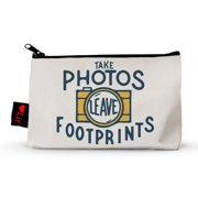 Take Photos, Leave Footprints Pencil Pouch