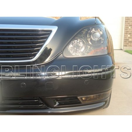 Lexus Ls430 Tinted Smoked Headlamps Headlights Overlays Kit