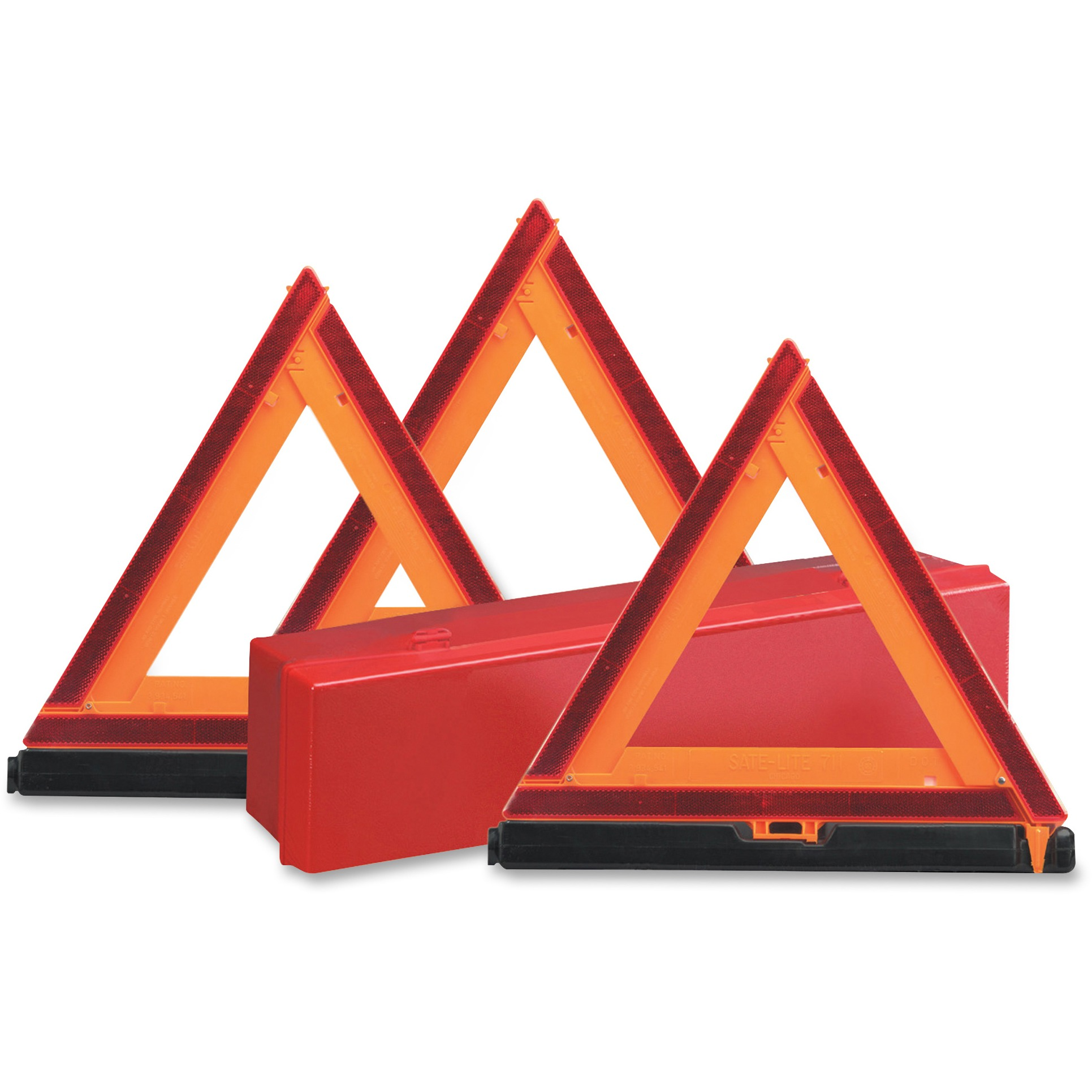 Sate-lite Early Warning Triangle Triple Kit