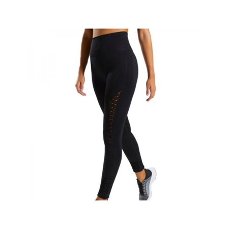 VICOODA High Waist Seamless Hollow Yoga Fitness Casual Running Sweatpants Tight Hip-lifting Pants Trousers S-L