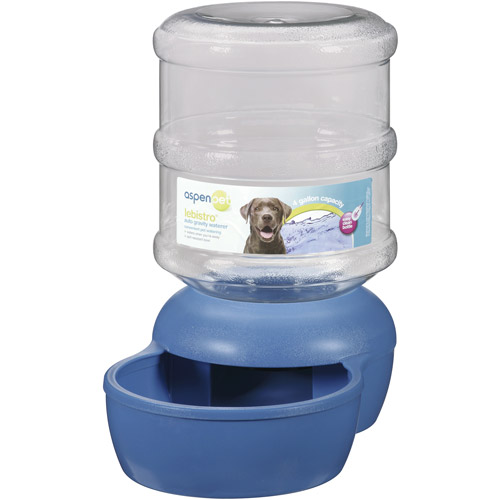 Aspen Pet LeBistro Auto Gravity 4 Gal Pet Waterer