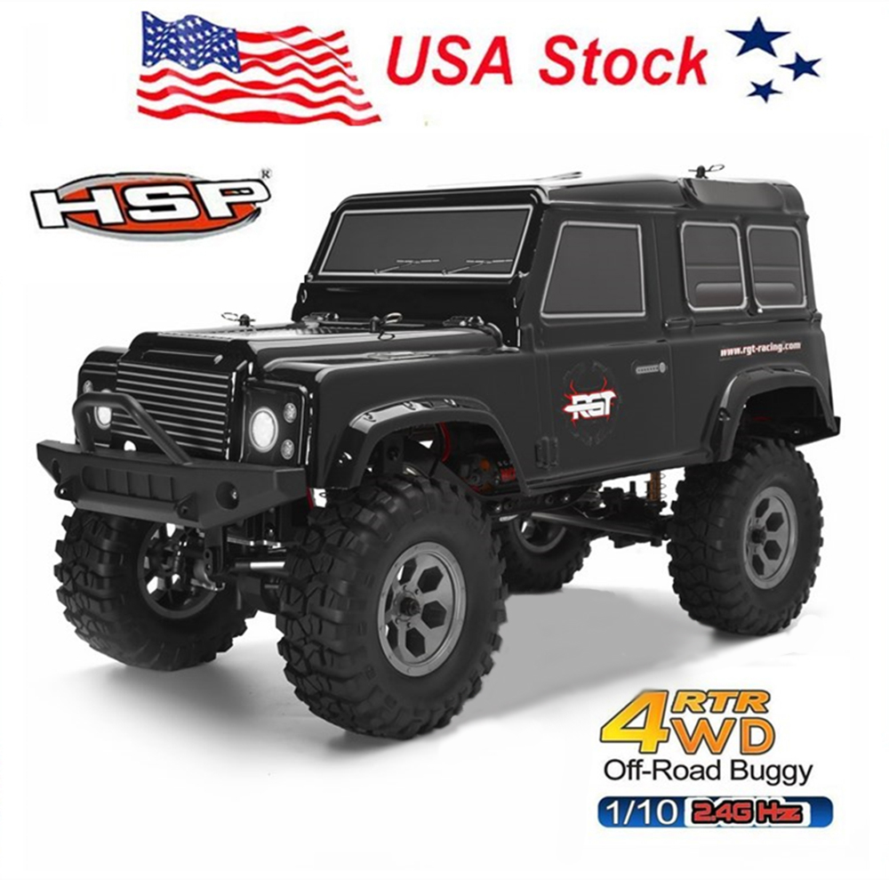 RGT Racing Rc Car 1/10 Scale Electric 4wd Off Road Rock C...