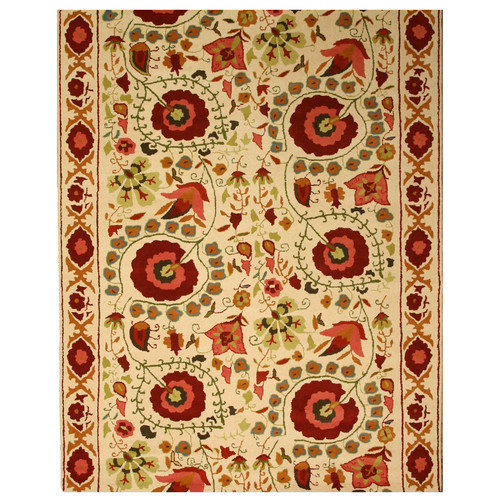 Wildon Home  Cleriese  Ivory Area Rug