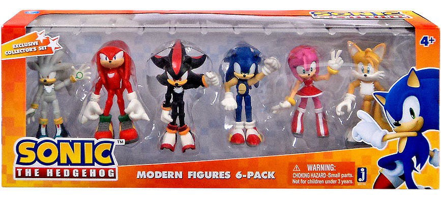 Sonic The Hedgehog Mini Figure 6 pcs Classic Collector/'s Set Perfect for Gifts